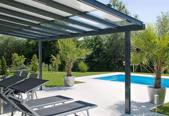 take advantage of modern glass canopy construction - Glass Tile Canopy 2016