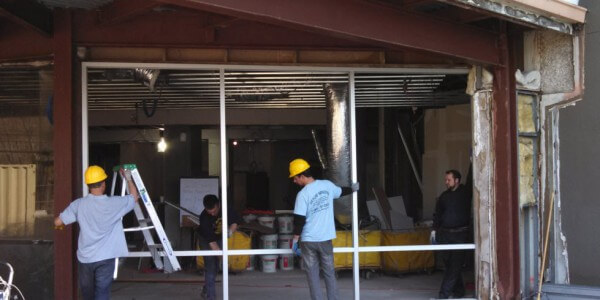 storefront installation process
