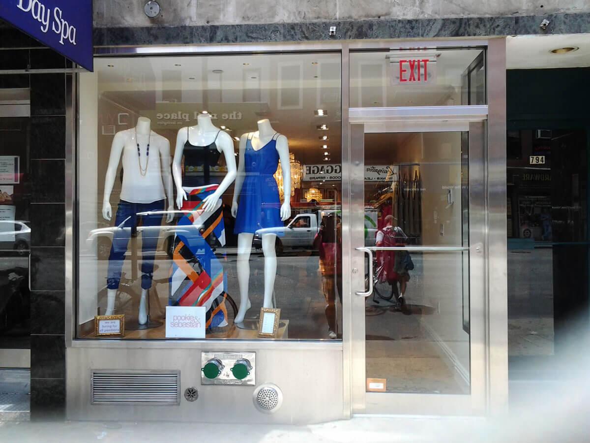 Storefront Design Installation Manhattan NYC & Storefront Design Construction Installation - Glass Aluminum NY ...