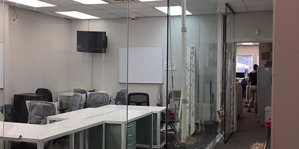 Glass Partition Walls installation NYC