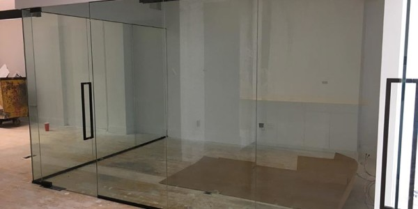 Office Glass Partition Walls installation Brooklyn