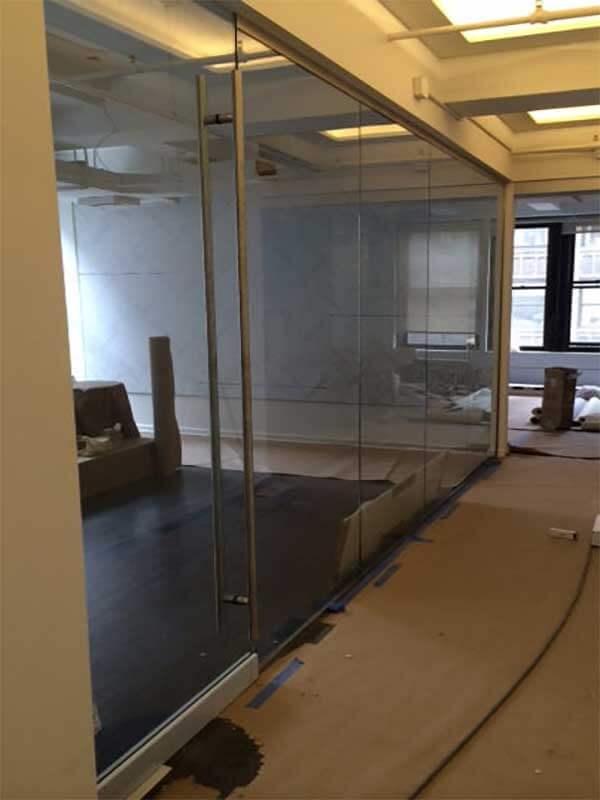 clear glass frameless wall door & Doors - Storefront Curtain Walls Replacement Windows Glass ...