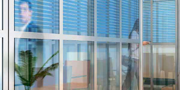 commercial framed glass panels wall dividers