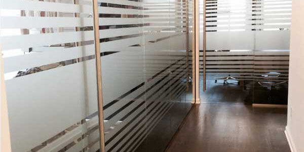 commercial glass office wall dividers