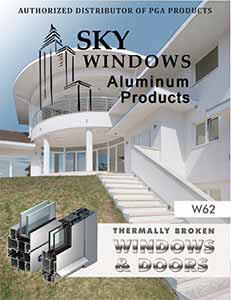commercial windows catalog cover
