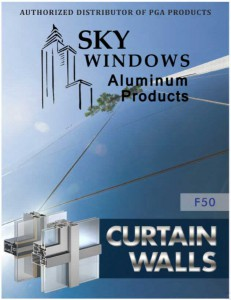 curtain walls catalog cover