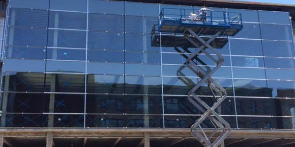 curtain walls finishing