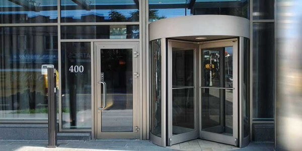 custom revolving door