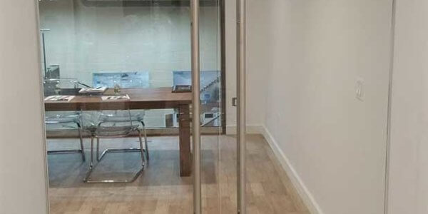 frameless glass door installation brooklyn nyc