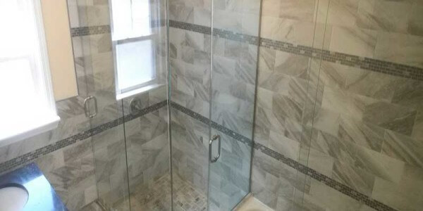 glass doors bathroom installation brooklyn ny