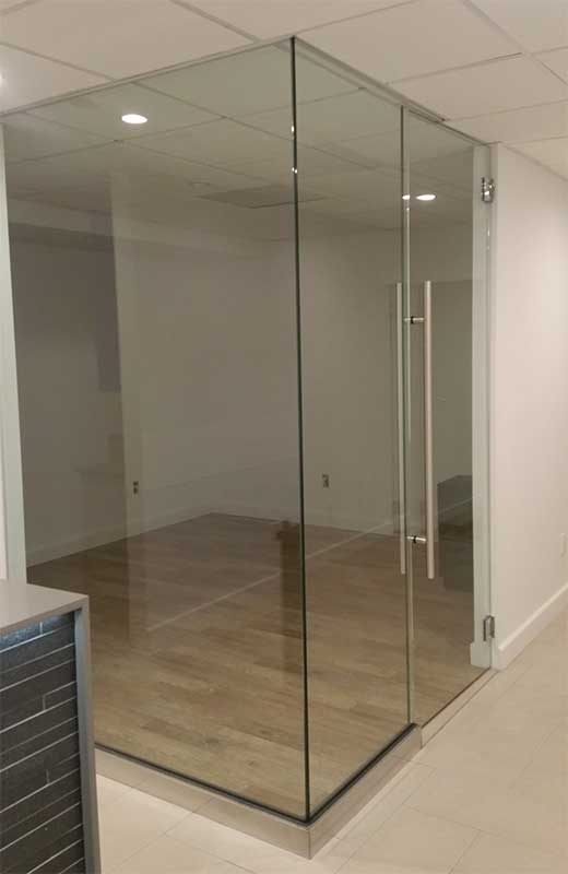 Glass Wall, Glass Office Partitions Divider | Design Fabrication ...
