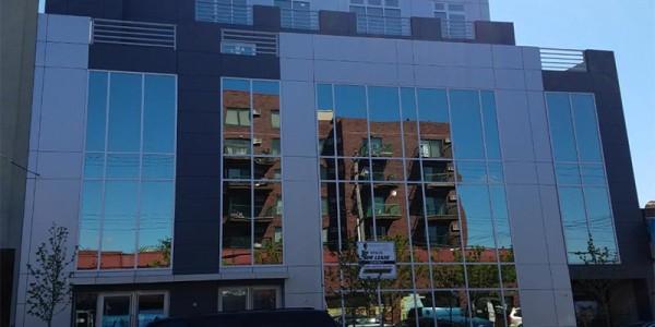 window curtain wall installation brooklyn nyc