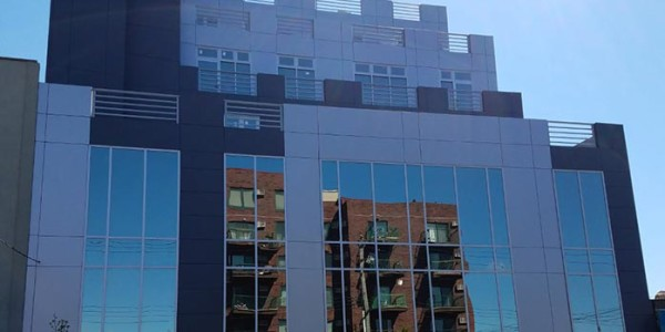 windows curtain wall installation brooklyn nyc
