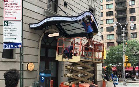 Glass Canopy NYC