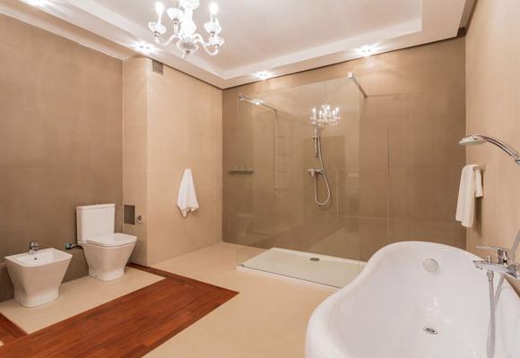 Frameless Glass Shower Doors in Bathroom Design