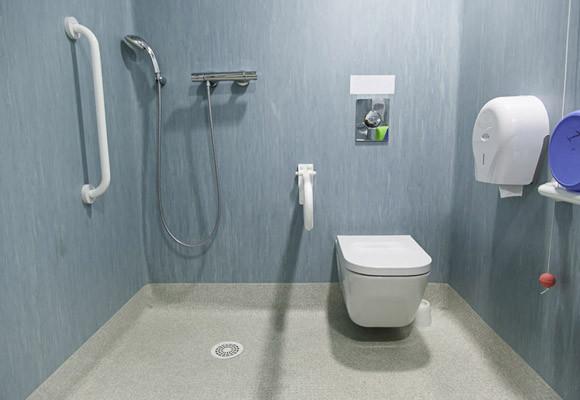 Handicap Showers and Bathroom Accessories