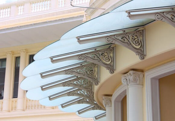 Frameless Glass Canopies | Entrance Ways with Style