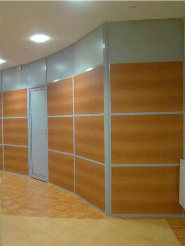 Commercial Wood Panels Office Wall Dividers