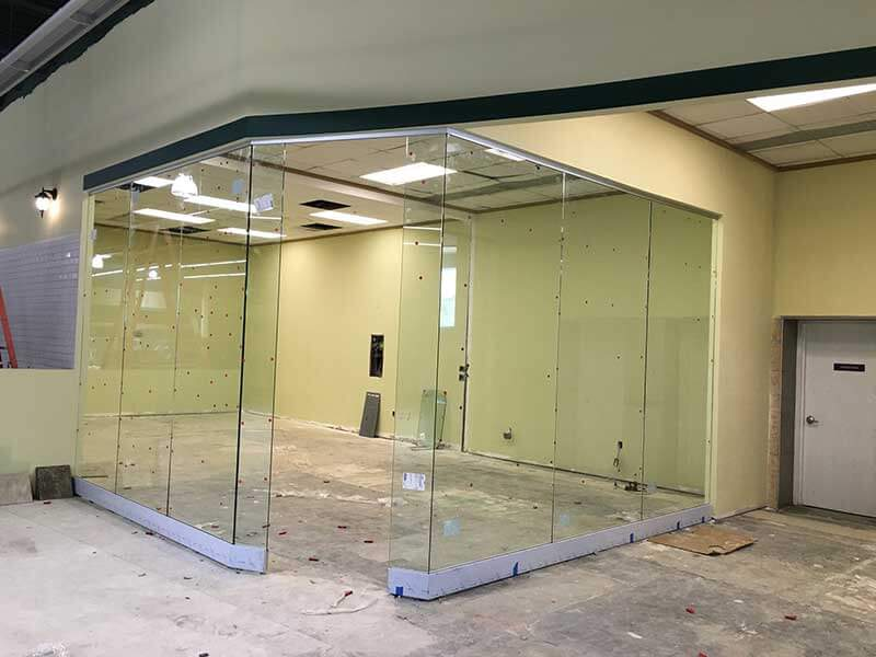 Beau Glass Office Room Divider