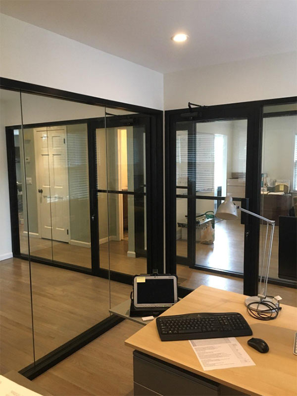 Glass Office Wall Dividers Brooklyn Nyc